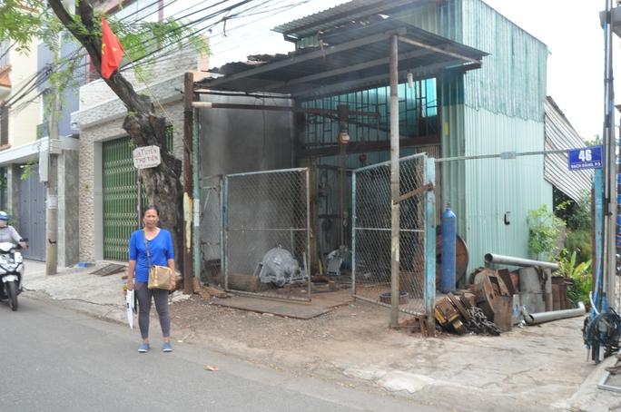Mảnh đất nơi bà Ba nhiều lần làm hồ sơ xin cấp giấy chứng nhận QSDĐ - Ảnh: Thanh Trúc