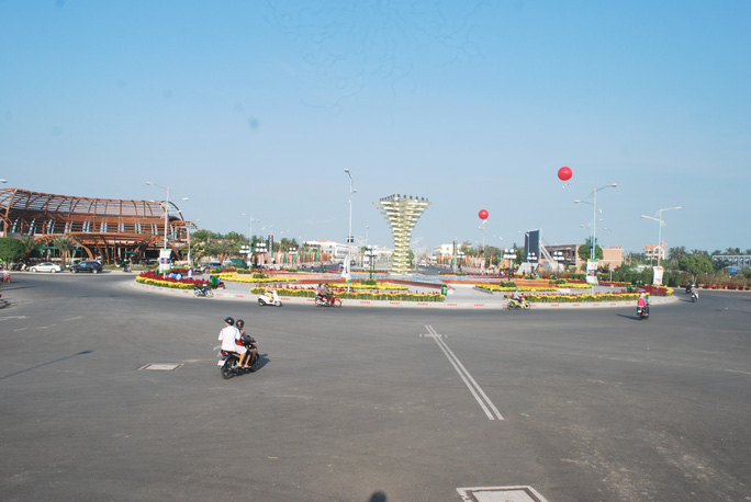 Khách du lịch đến khu lấn biển này của tỉnh Kiên Giang sẽ được truy cập internet miễn phí từ ngày hôm nay 1-4