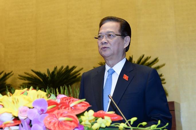 Thủ tướng Nguyễn Tẫn Dũng thừa nhận năng lực dự báo còn hạn chế - Ảnh: Nguyễn Nam.