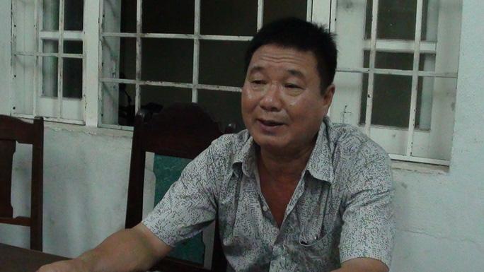 Đối tượng Vũ Nguyễn Chính bị công an bắt tại Đà Nẵng khi về thăm vợ con