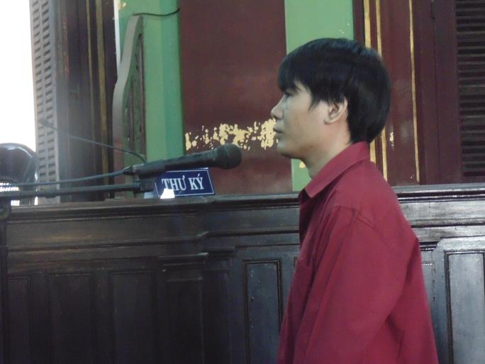 Bị cáo Nguyễn Minh Quàng tại tòa phúc thẩm