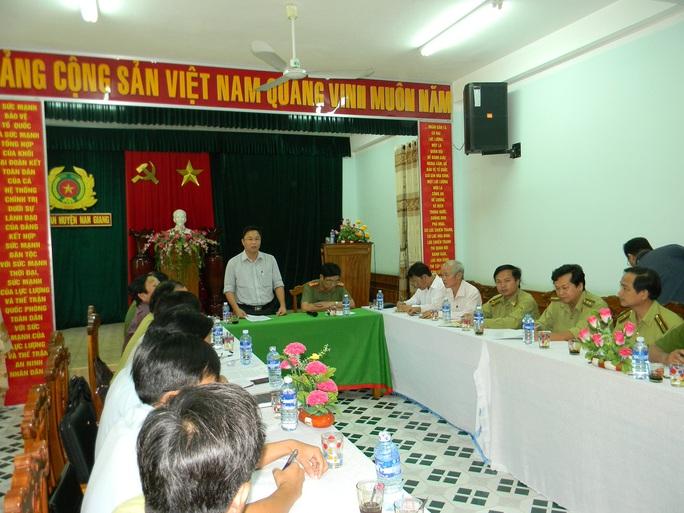 Ông Lê Trí Thanh chủ trì cuộc họp