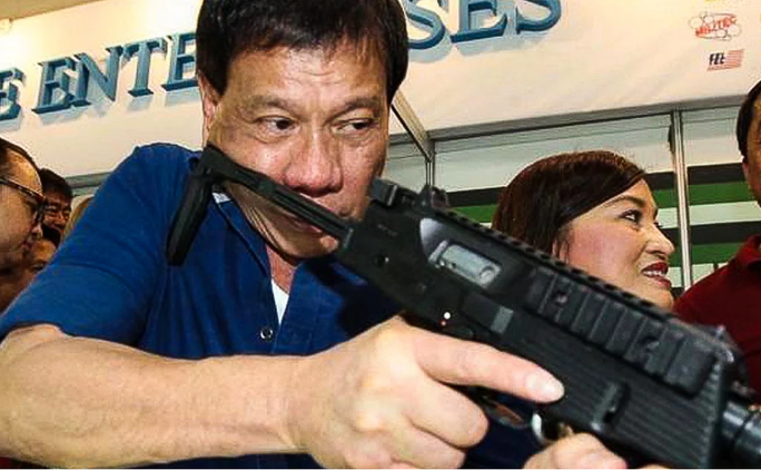 Tổng thống Philippines Rodrigo Duterte. Ảnh: Concept News Central