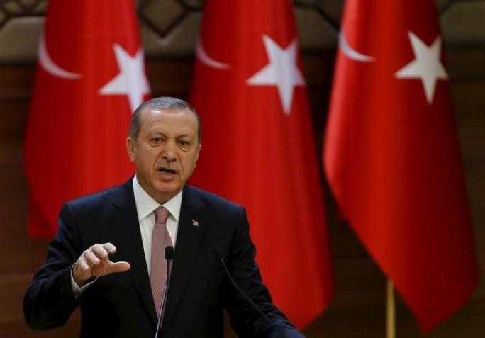 Chính quyền Tổng thống Erdogan (ảnh) cho biết Tổng thống Obama chia sẻ lo ngại với Thổ Nhĩ Kỳ và hứa sẽ hỗ trợ nước này tại Syria. Ảnh: Reuters