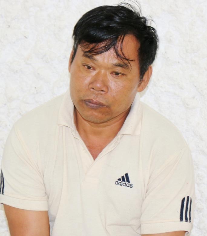 Trùm buôn gỗ lậu Hà đen tại cơ quan Công an tỉnh Lâm Đồng.