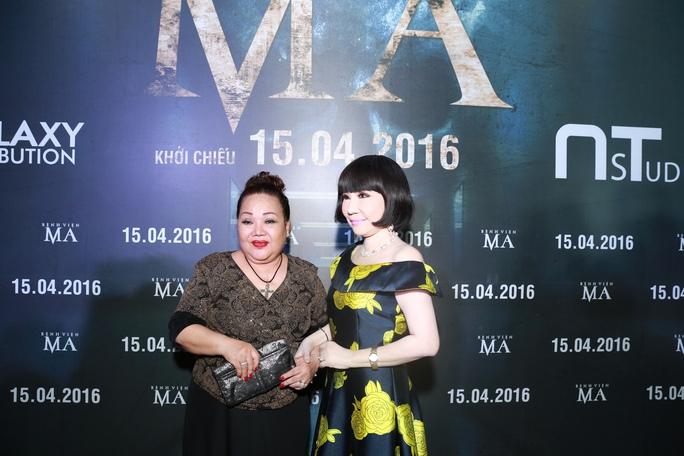 NS Ngọc Giàu và Thanh Kim Huệ dự buổi ra mắt phim