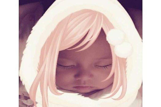 Khuôn mặt xinh đẹp của bé Châu Châu