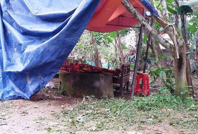 Hiện trường nơi phát hiện thi thể nạn nhân Hoàng Duy Mạnh
