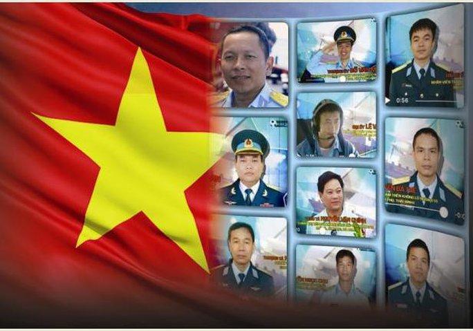 10 liệt sĩ hi sinh trong vụ 2 máy bay gặp nạn - Ảnh: TTO