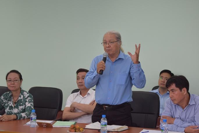 Hoạ sĩ Trần Văn Mười – Chủ tịch Hội Mỹ thuật TP HCM phát biểu
