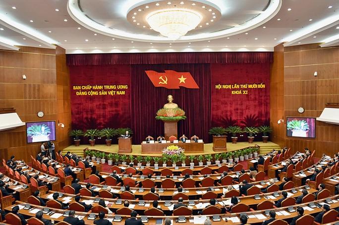 Hội nghị Trung ương lần thứ 14, Khóa XI khai mạc sáng ngày 11-1 tại Hà Nội - Ảnh: VGP