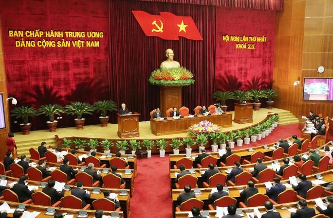 Quang cảnh Hội nghị lần thứ nhất Trung ương khóa XII