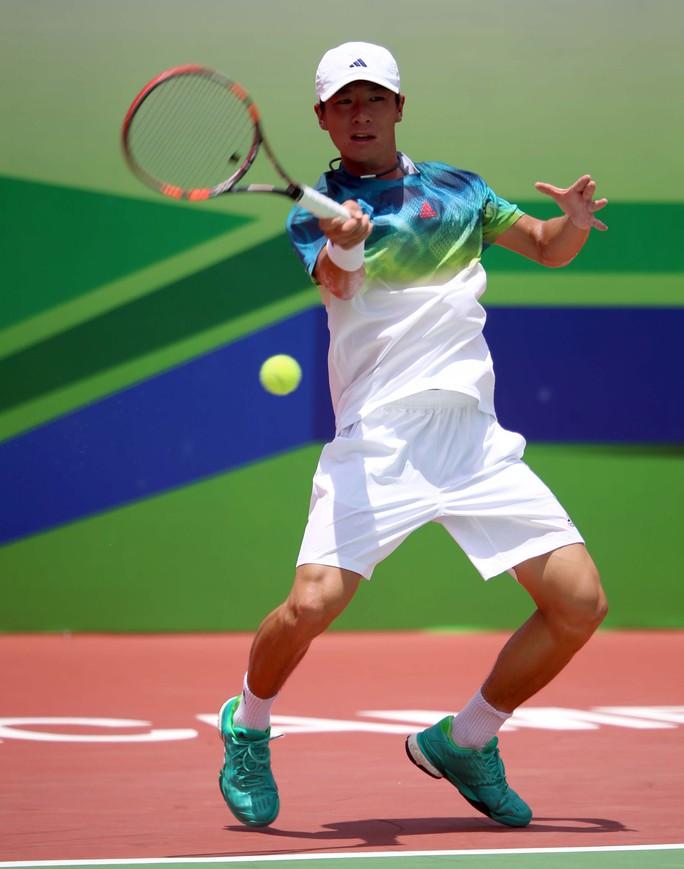Hong Seong Chan, đối thủ của Hoàng Nam và là hạt giống số 1 tại giải