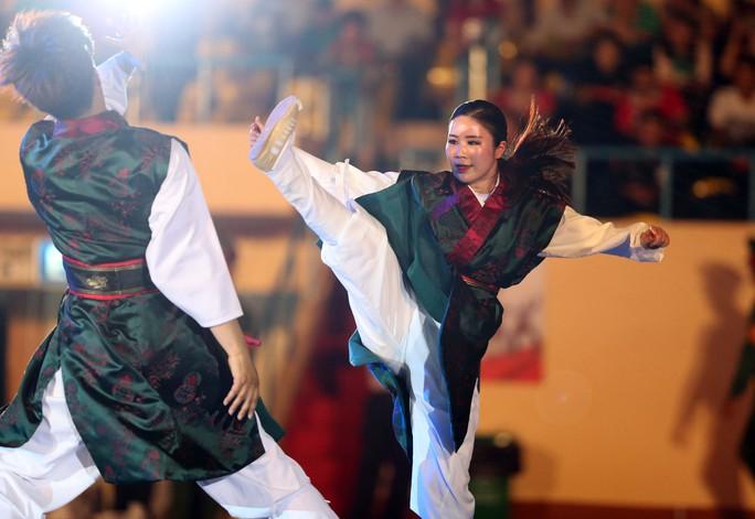 Môn võ nghệ thuật của Hàn Quốc lần đầu ra mắt công chúng