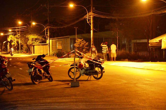 Hiện trường nam thanh niên bị nhóm côn đồ đâm ở quận Bình Tân