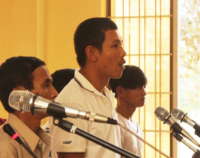 Ông Huỳnh Trung Thắng, người bị cho rằng có dấu hiệu bắt người trái pháp luật