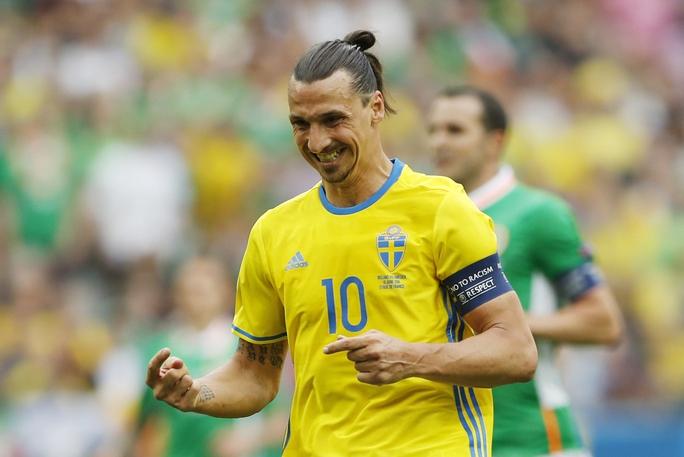 Ibrahimovic có quyền hài lòng về 1 điểm mà Thụy Điển giành được