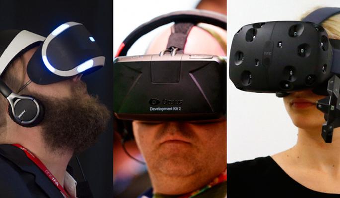 Sự bùng nổ thực sự của các thiết bị thực tế ảo.