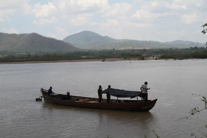 Đoạn sông nơi xảy ra vụ việc