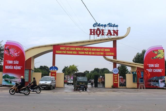 Công viên Hội An Tình sâu nghĩa nặng - Son sắt thủy chung thể hiện tình cảm bền chặt giữa người dân xứ Quảng và xứ Thanh