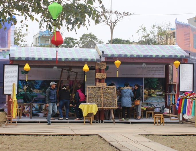 Khu ẩm thực quảng bá những món ăn đặc sản, độc đáo của người dân xứ Quảng