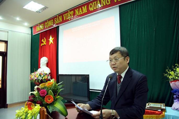 Ông Nguyễn Văn Hậu, Giám đốc Sở TN-MT Phú Thọ - ảnh: Thanh Tâm