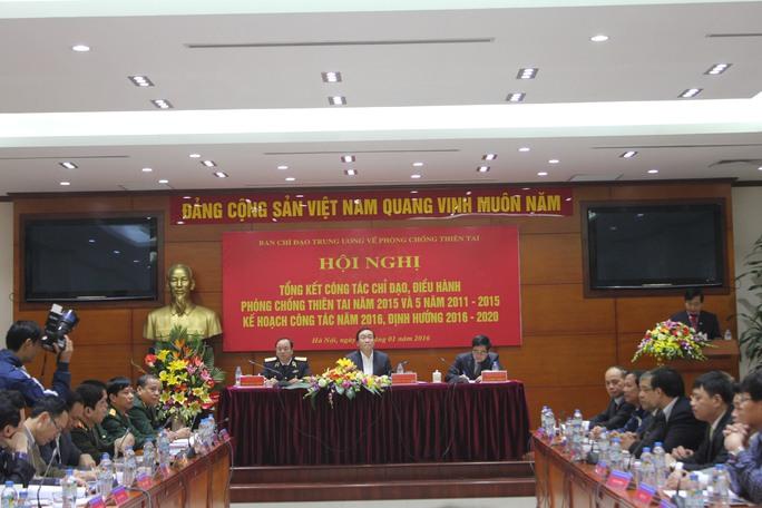 Phó Thủ tướng Chính phủ Hoàng Trung Hải chủ trì hội nghị