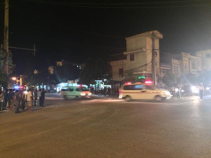 Đoàn xe đưa thi thể quân nhân rời cảng Hải quân 128 về Hà Nội