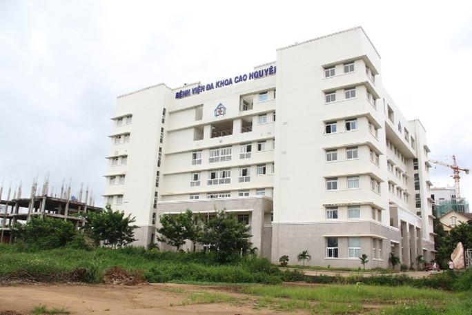 Bệnh viện Đa khoa Cao Nguyên, nơi sản phụ Liên nhập viện để sinh