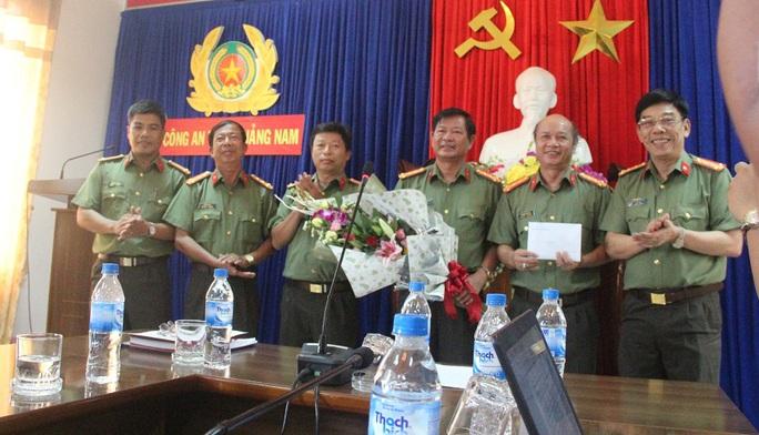 Ban chuyên án đã được Giám đốc Công an tỉnh Quảng Nam khen thưởng