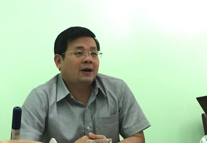 Ông Nguyễn Toàn Thắng - Giám đốc Sở TN&MT TP HCM - thông tin về mùi hôi Nam Sài Gòn