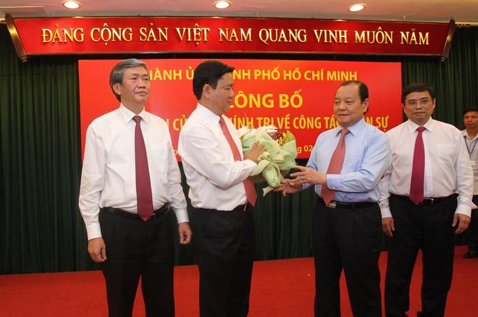 Nguyên Bí thư Thành ủy TP HCM chúc mừng ông Đinh La Thăng