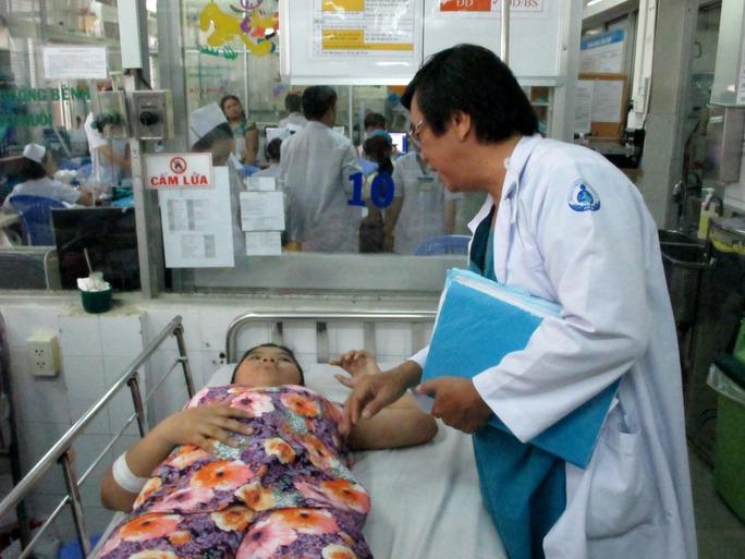Bé Tr. hồi phục tốt sau phẫu thuật