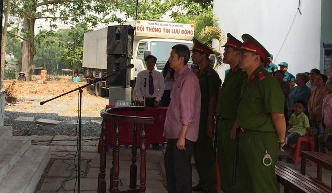 Phan Văn Liêu nghe tòa tuyên án