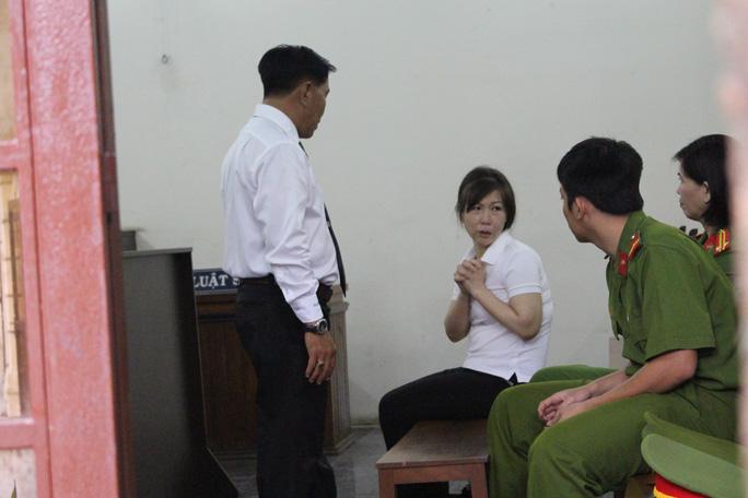 Bị cáo Phụng tại tòa