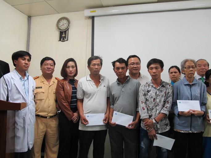 Ủy ban An toàn giao thông Quốc gia hi vọng phần nào động viên các gia đình có người bị TNGT