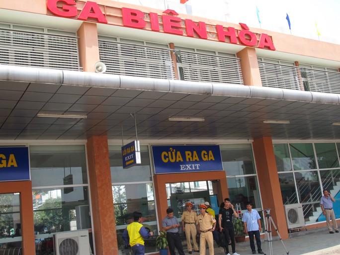 Các hoạt động tại ga Biên Hòa suôn sẻ