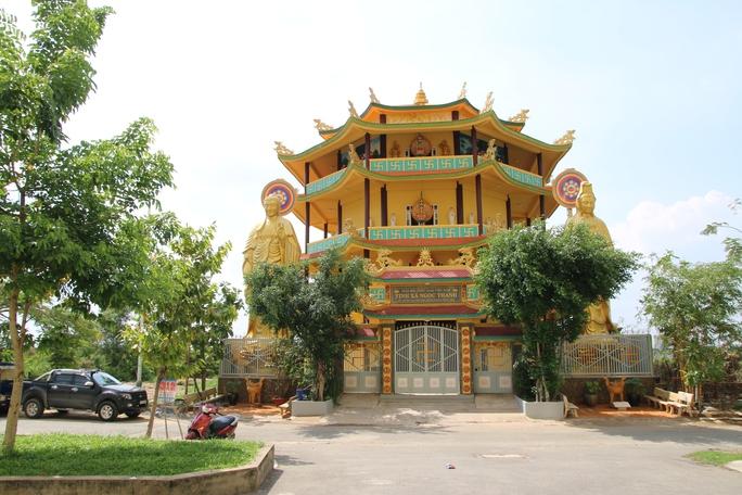 Cơ sở mới Tịnh Xá Ngọc Thanh tọa lạc tại phường Trưng Đông, quận 2, TP HCM