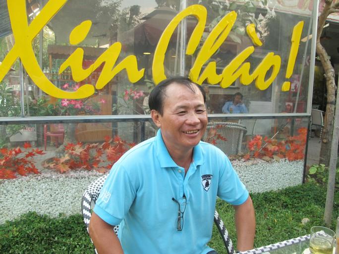 Ông Nguyễn Văn Tấn vui mừng vì thoát án và quán của ông đã hồi sinh