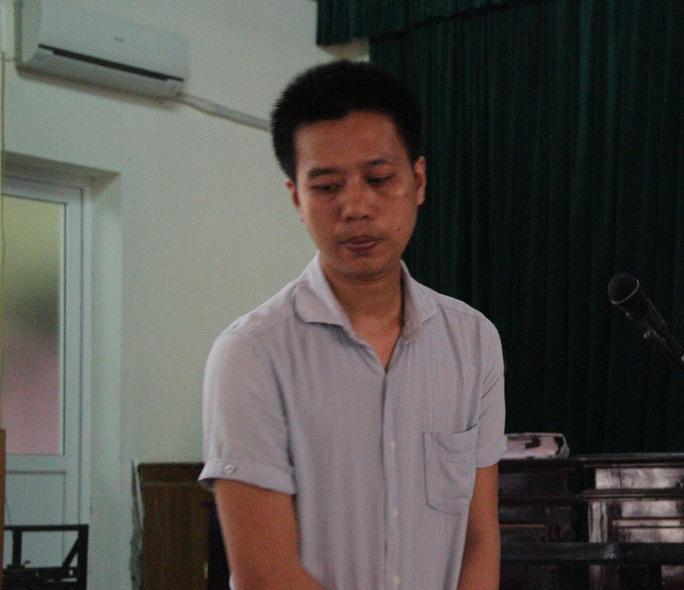 Nguyễn Tiến Quân tại phiên tòa