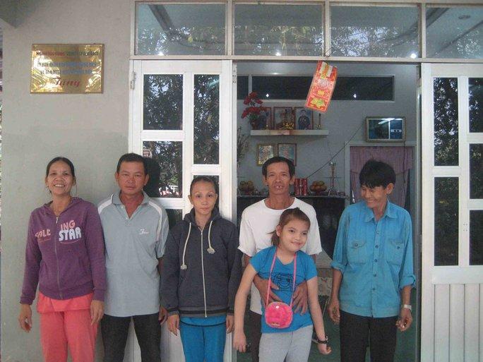 Căn nhà do Báo Người Lao Động và Công ty CP Gentraco xây dựng để ông Tài làm nơi thờ phượng vua Thành Thái