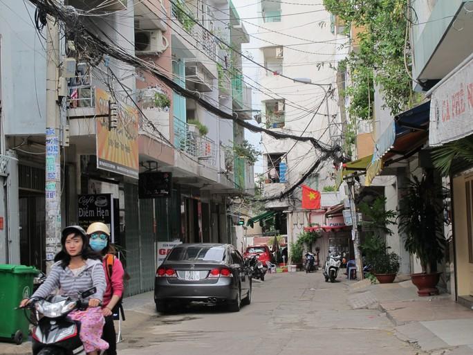 Chung cư 234 Phan Văn Trị (Bình Thạnh), nơi xảy ra vụ việc