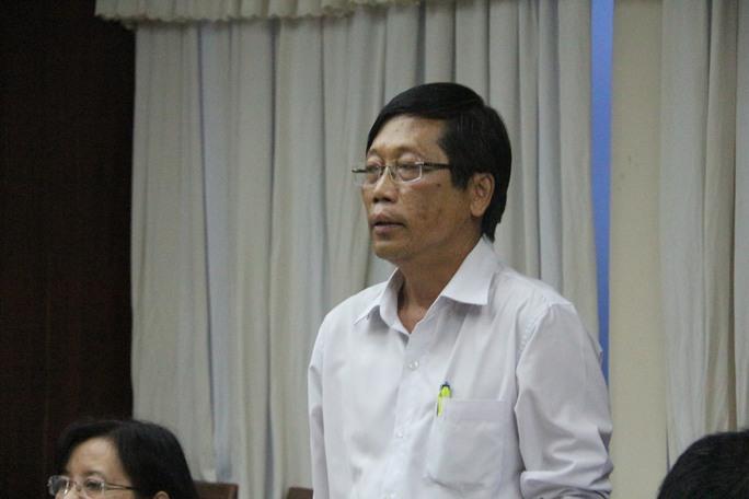 Ông Nguyễn Phước Trung cho biết cá chết do ô nhiễm cục bộ và khí độc