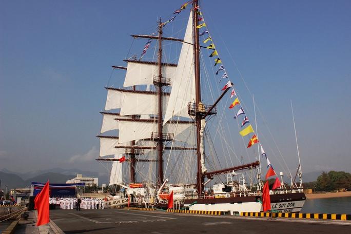 Tàu hiện đại phục vụ huấn luyện và nhiệm vụ khác của Học viện Hải quân