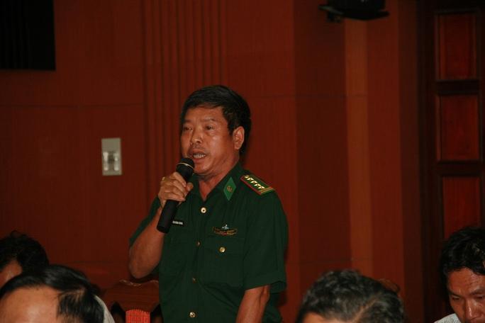 Đại tá Nguyễn Đăng Chung thông tin vụ việc