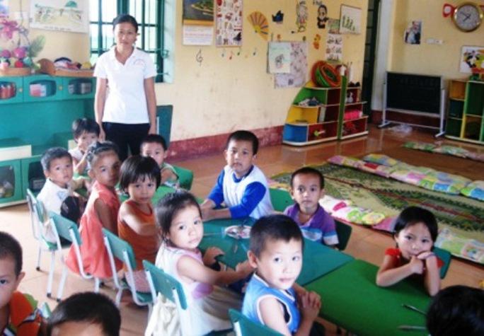 Trẻ mầm non tại Thanh Hóa được tăng thêm khẩu phần ăn, hỗ trợ dinh dưỡng, đặc biệt là những trẻ em vùng khó khăn