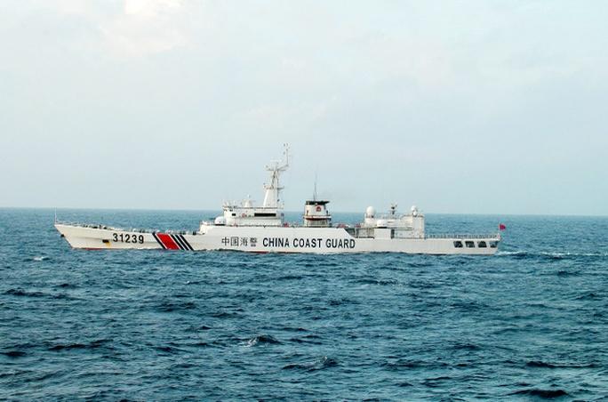 Tàu Hải cảnh Trung Quốc 31239 Ảnh: ASAHI