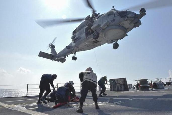 Mỹ khẳng định tiếp tục thực thi chiến dịch tự do hàng hải tại biển Đông. Ảnh: REUTERS