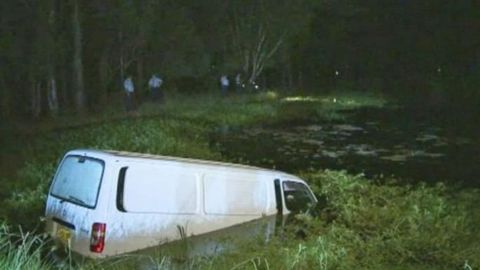 Chiếc xe tải được cho là đồ ăn cắp. Ảnh: ABC News