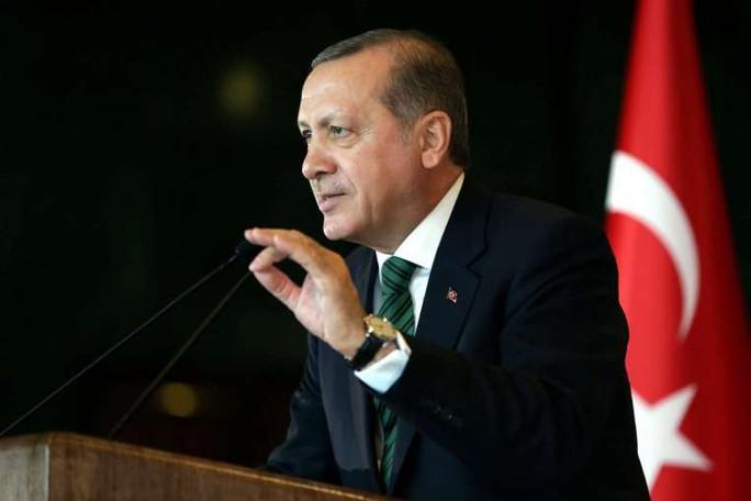 Tổng thống TNK Recep Tayyip Erdogan. Ảnh: EPA